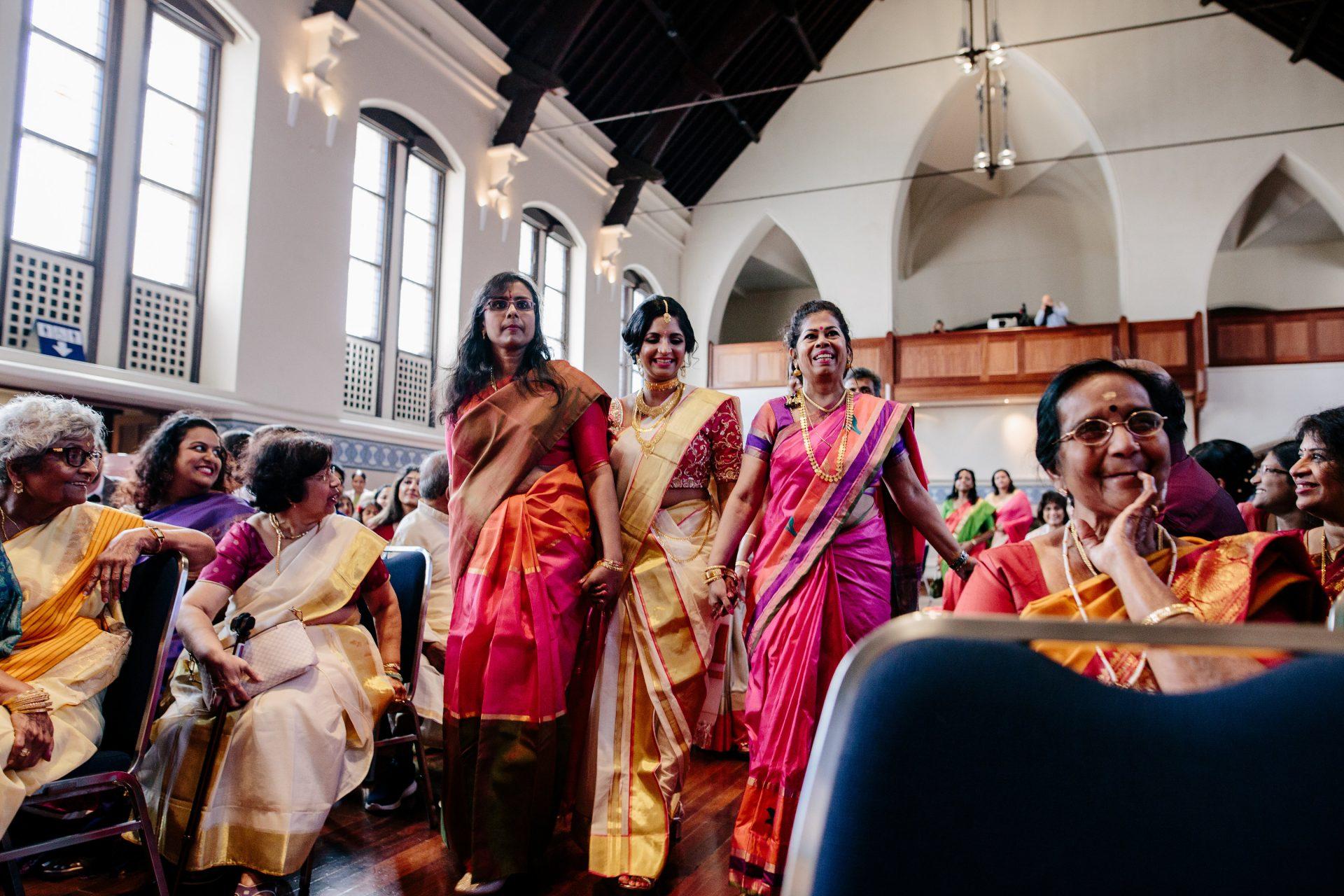 Grant & Rekha Watson's wedding, Perth Town Hall, 2020, Image courtesy of benandebony.com.au
