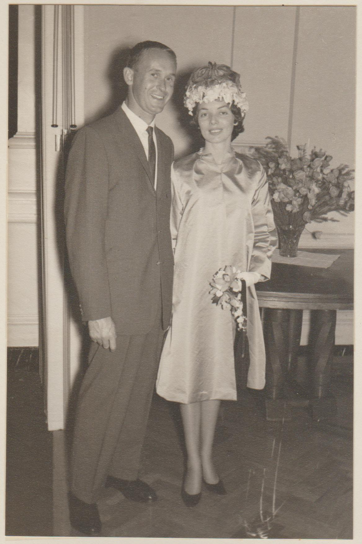 My wife and I were married in 1962 at Saint Peters Anglican Church in Victoria Park in 1962. Victoria Park was within the City of Perth at that time. The reception was in the Palace Hotel Perth. Image courtesy of Llewellyn David.