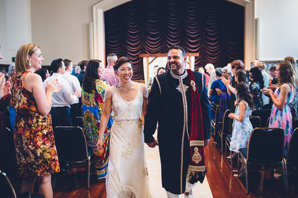 Ada Chung & Stephen Harrison's wedding, Perth Town Hall, 2017. Image courtesy of Ada Chung.